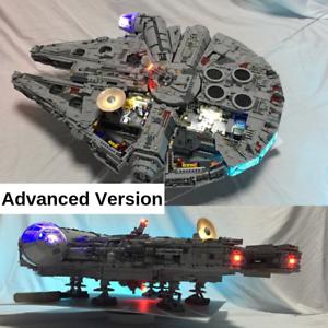 Kit de Luz Led Usb Para Lego 75192 Halcón Milenario Star War juego de versión avanzada