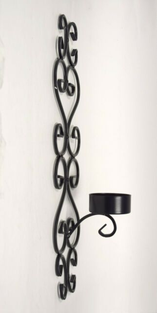 promo code bde81 dcb27 American Atelier At Home Black Metal Wall Sconce Candle Holder Mosaic Series