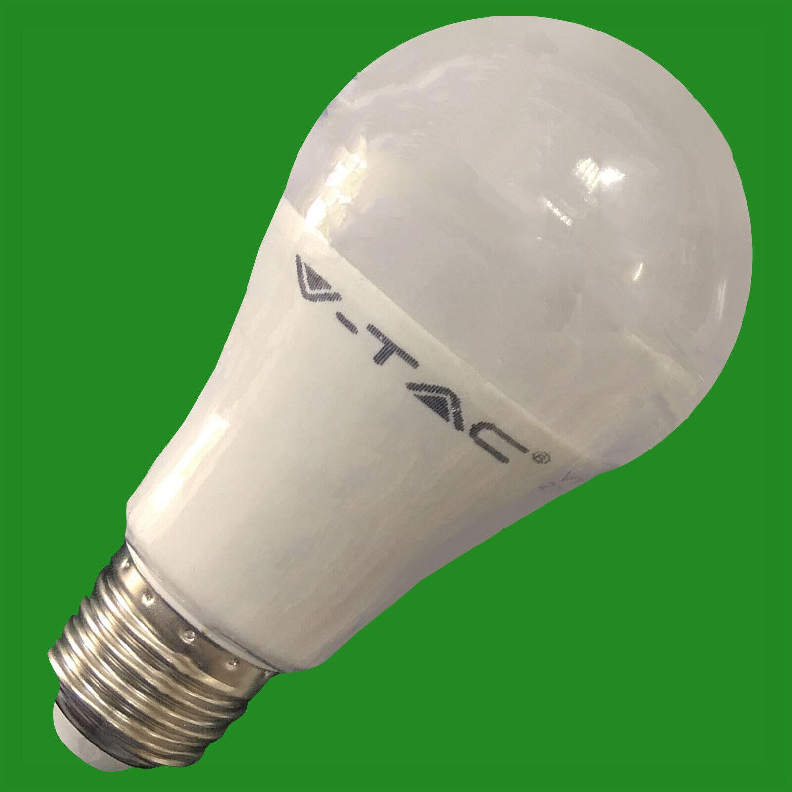 10x 12W LED A60 GLS Warm Weiß Light Bulb ES E27 Edison Screw Lamp Globe