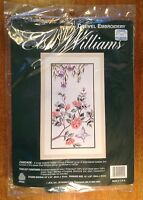 Elsa Williams, Cascade, Crewel Embroidery Kit, Michael A Leclair