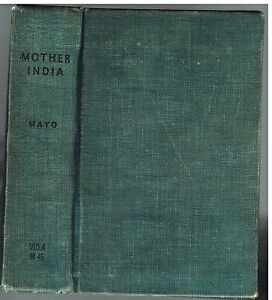 Mother-India-by-Katherine-Mayo-1927-1st-Ed-Rare-Vintage-Book