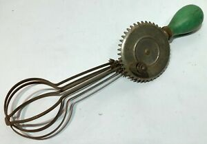 Vintage A and J Manual Whisk Egg Beater
