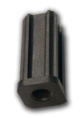 """7//8/"""" Outside Diameter 7//16/"""" Inside Stem Caster Socket Sleeve Square Inserts"""