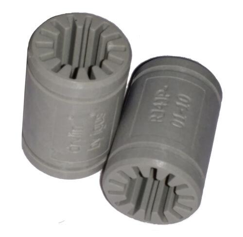 3D Printer Solid Polymer LM10UU Bearing Igus Drylin RJ4JP-01-10 10mm shaft