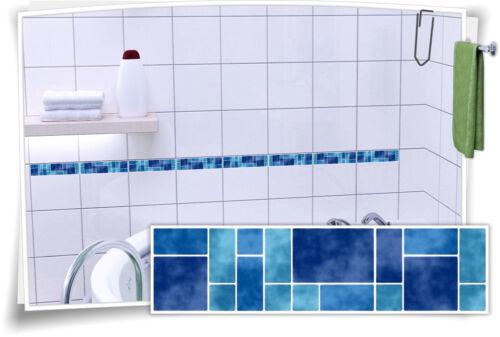 Tile Stickers Tile Border Border Mosaic Blue Tile Sticker fb5