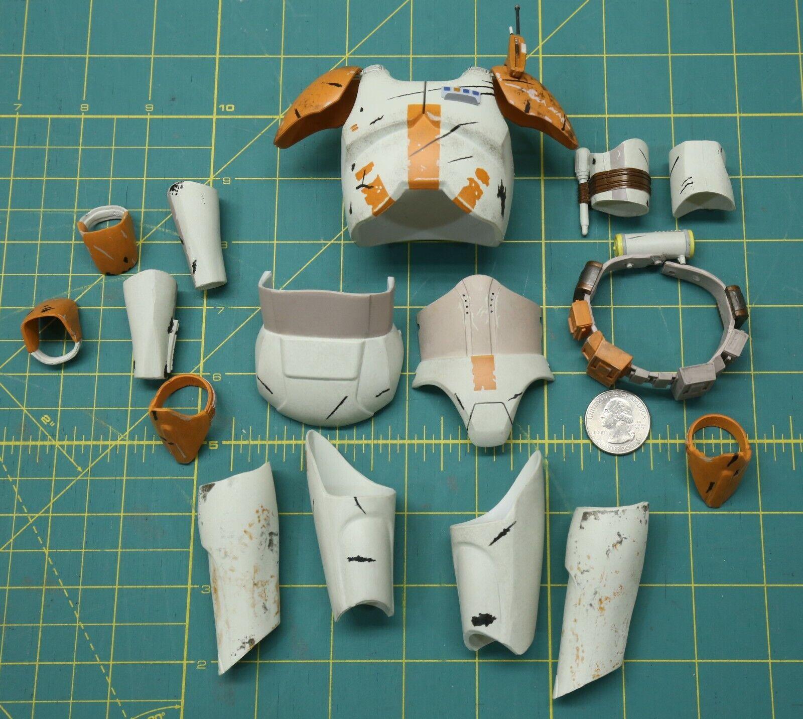 Sideshow 1/6 Scale Commander Cody Full Armor Set on eBay thumbnail