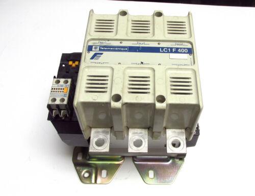 Contact Block . * Telemecanique LC1F 400 Contactor 120V Coil /& Aux ZC-92