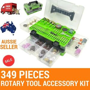 349 Rotary Tool Accessories,Fit DREMEL,OZITO,Ryobi Mini Grinders,engaving,polish