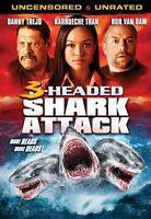 3 Headed Shark Attack Sealed Dvd Danny Trejo Rob Van Dam Syfy