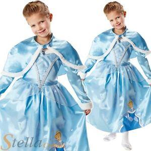 c669ee62eb2f Image is loading Girls-Disney-Princess-Winter-Wonderland-Cinderella- Fancy-Dress-