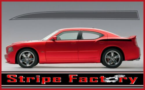 DODGE CHARGER REAR QUARTER OUTLINE SPEARS DECAL FACTORY STRIPE 2006 2010