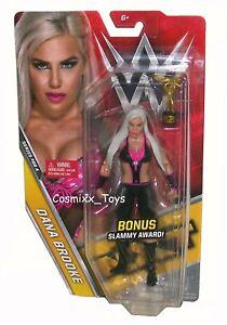 WWE Dana Brooke Mattel Basics Series 68 Wrestling Figure Raw