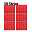 miniature 7 - 3M™ Double Sided Sticky Pad Strips, Strong Heavy Duty Mounting Adhesive Tape