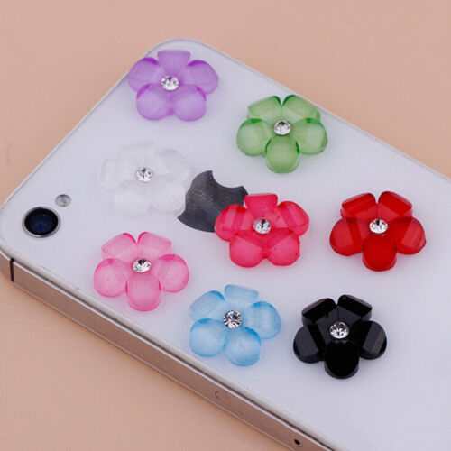 20Pc 10mm DIY Resin Flowers Flatback Scrapbooking for Phone//Wedding Crafts P RAC