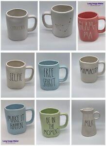 "Rae Dunn LL Large Letter Coffee Mug Assorted HTF 2018-2019 ""Buy 2 Get 1 Free"""
