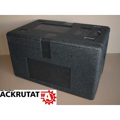 Storopack Thermobox mit Deckel Kühlbox Trockeneis Isolierbox 33l Styropor EPP