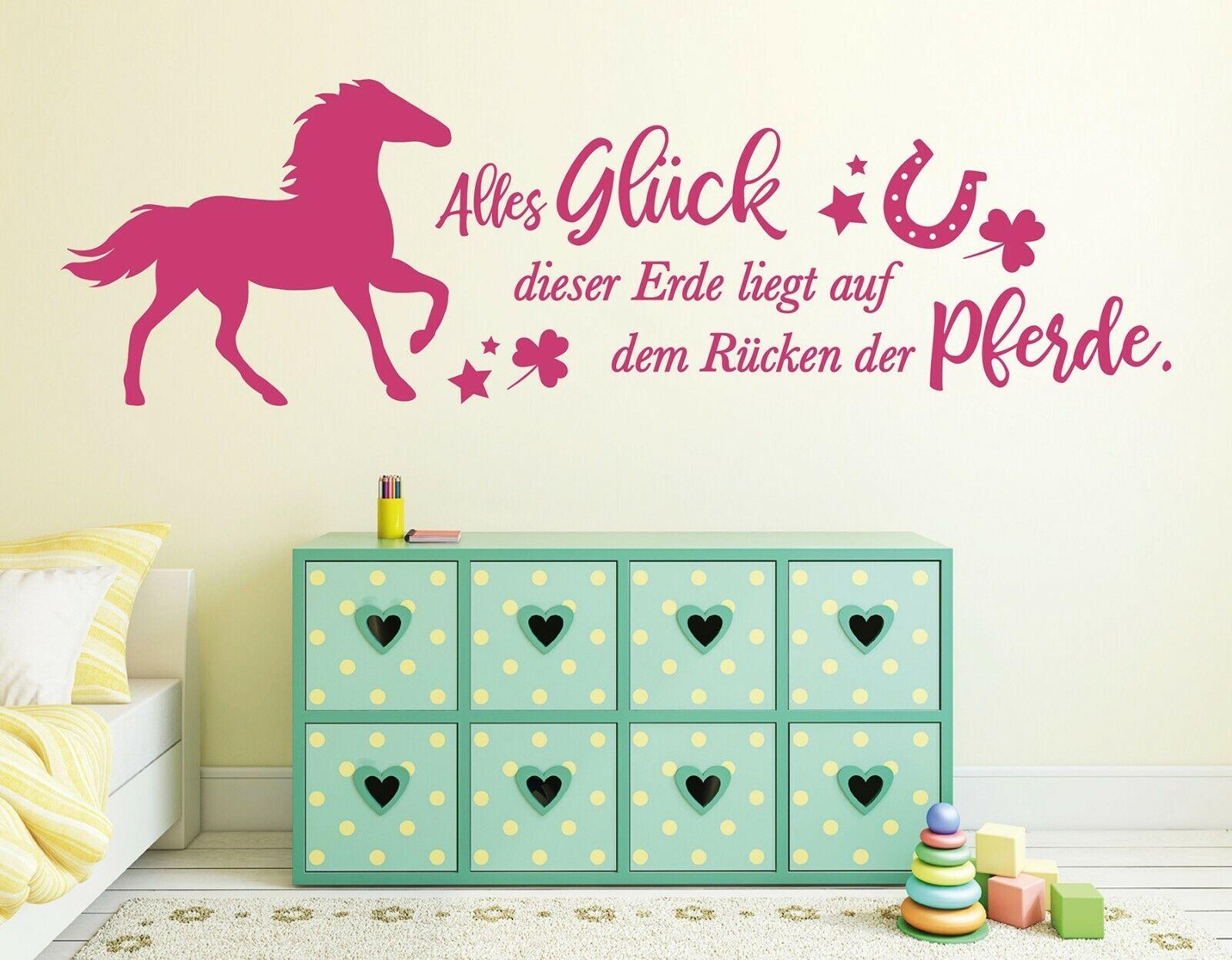 Wandtattoo Frauen Wandtattoo Kinderzimmer Wandtattoo Pferde pkm451 ...