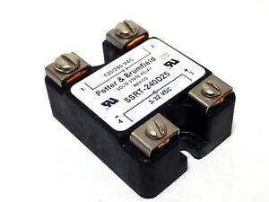 Form A Potter /& Brumfield Tyco SSR-240D25 Solid State Relay 240V 25A SPST NO