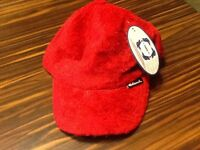 Rare Clench Red Tony Jones Hat Rayon Polyester Retro Cap Hip Cool