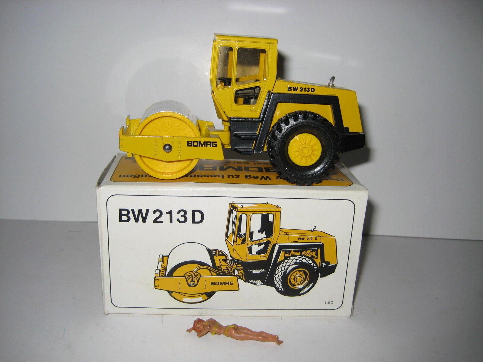BOMAG BW 213 D Rouleau  2710.1 CONRAD 1 50 NEUF dans sa boîte