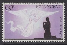 ST.VINCENT SG682w 1981 60c CHRISTMAS WMK CROWN TO LEFT OF CA MNH