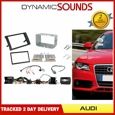 Connects2 CT23AU04A Audi A4 2007 On Double DIN Facia Fascia Plate Fitting Kit
