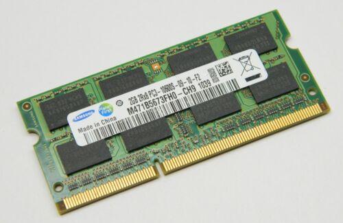 SAMSUNG 2GB RAM 2RX8 PC3-10600S  Laptop Memory YF9626A4