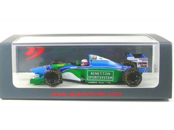Benetton B194 no. 6 Monaco GP 1994 ( J.J.Lehto )