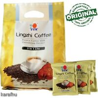 Dxn Lingzhi Coffee 3in 1 Lite Ganoderma Extract Instant Original 20 X 21g
