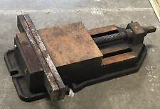 Vintage Drill Press Machinist Vise Heavy Duty
