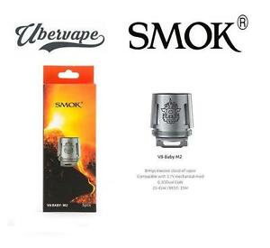 Smok Tfv8 Baby V8 Stick M2 0 25ohm Coils Uk Distributor 1 5