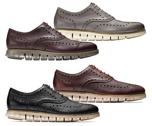 6772f0cbac Men Cole Haan Zerogrand Wingtip Oxford Shoes Leather Brogue Oxfords ...