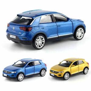 1-36-T-ROC-SUV-Off-road-Die-Cast-Modellauto-Auto-Spielzeug-Model-Sammlung-Kinder