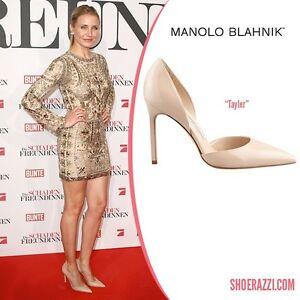 new manolo blahnik tayler 105 nude beige flesh heels pumps dorsay rh ebay com