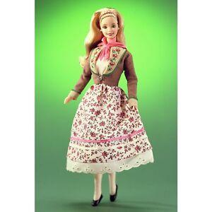Collection Barbie Autrichienne 20e anniversaire Barbie® Doll Mattel 21553 Nouveau