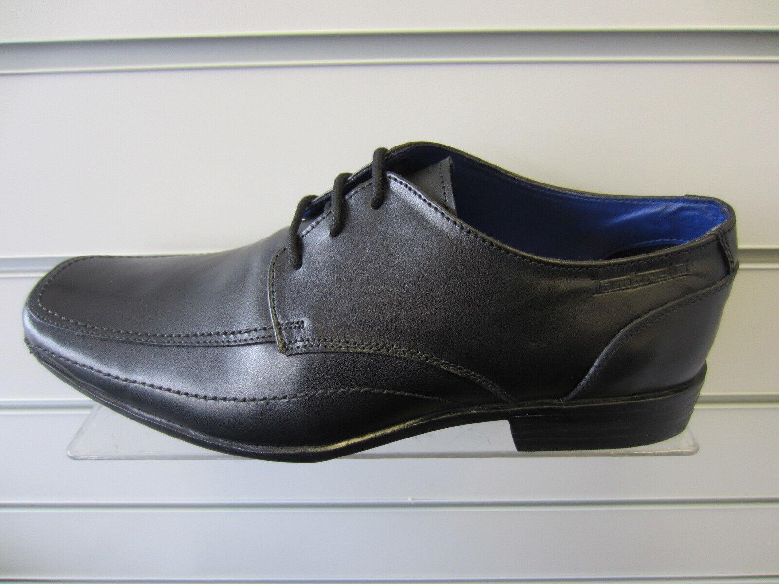 Mens Lambretta Black shoes 20303