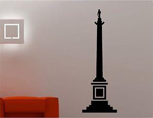 Enorme-Nelsons-Column-Londres-Pegatina-Pared-Arte-Ninos-Salon-Cocina-Dormitorio