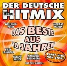 DER DEUTSCHE HITMIX - DAS BESTE AUS 10 JAHREN CD NEU