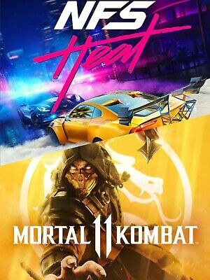 Need For Speed Heat Mortal Kombat 11 Bundle For Xbox One No Cd