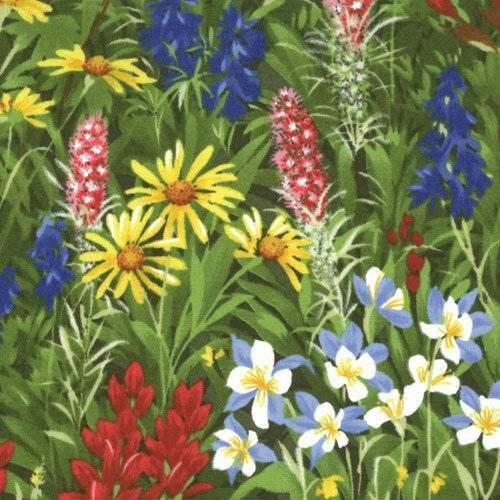 Moda WILDFLOWERS BASICS Summer 32361 11 Fabric By The Yard Sentimental Studios