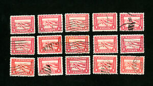 US-Stamps-402-F-VF-amp-VF-Used-Lot-of-15