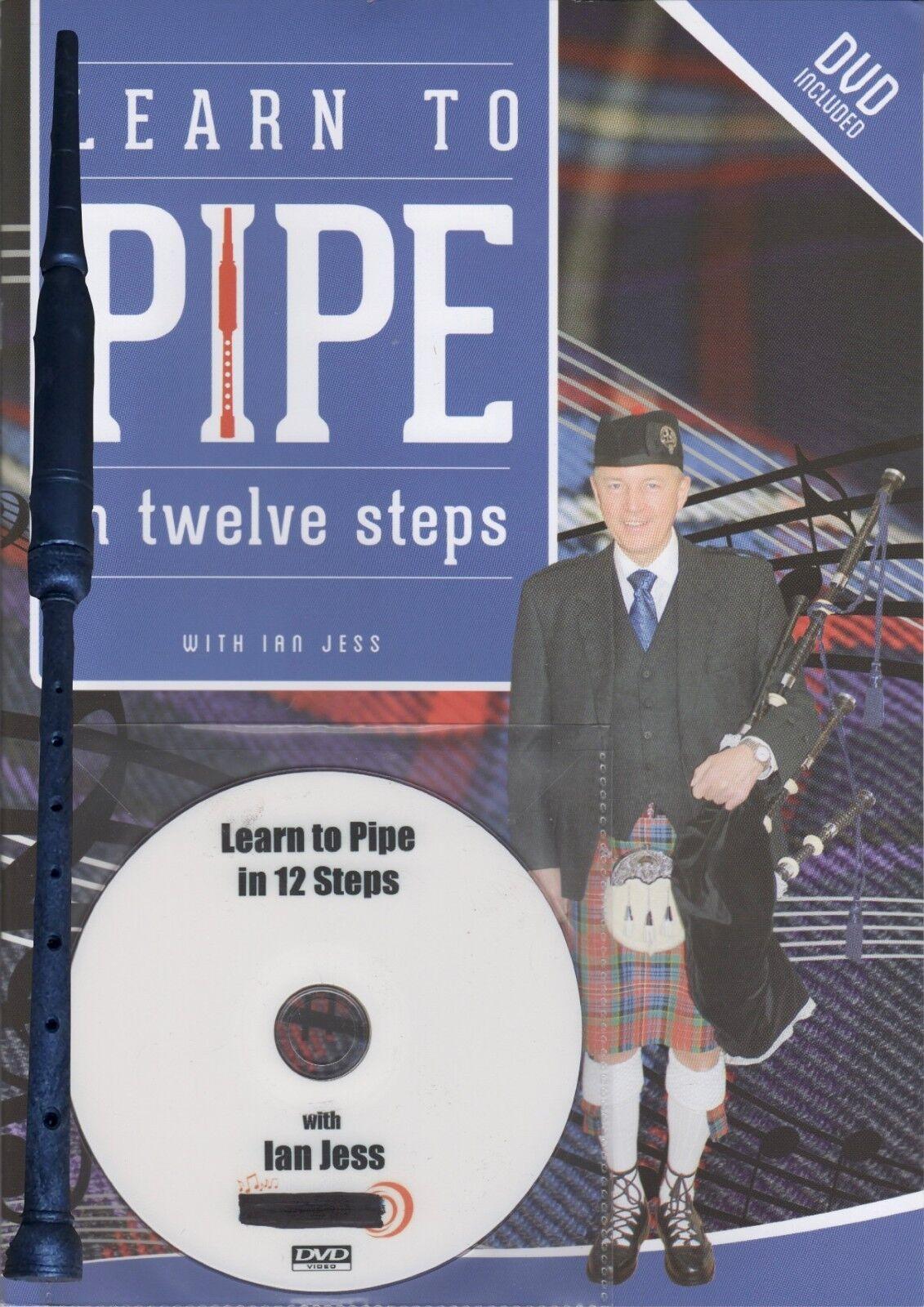 Aprenda a a a gaita en doce pasos por Ian Jess incluso escocés práctica puntero f3e132
