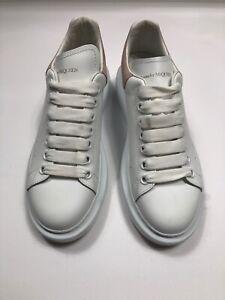 Details about Alexander McQueen Women's Oversized White Sneakers SZ 39.D  $575