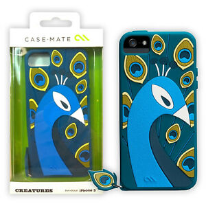 62a97d674573 Image is loading Case-Mate-Creature-Peacock-Impact-Absorbing-Silicone-Case-