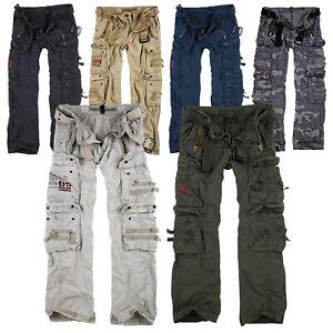 enjoy clearance price designer fashion best authentic Details zu SURPLUS Raw Vintage Royal Traveler Trousers Premium Cargo Pants  Hose Airborne