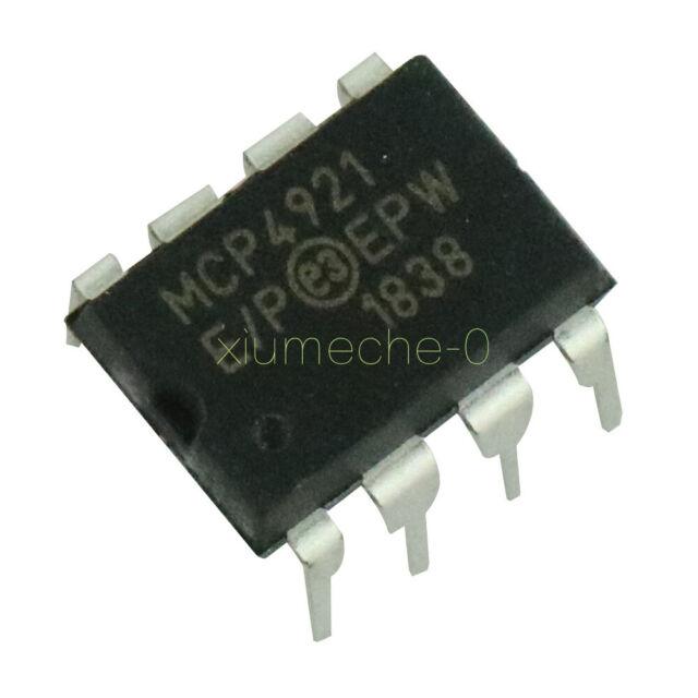 10PCS Digital Analog Converter IC MICROCHIP DIP-8 MCP4921-E//P MCP4921