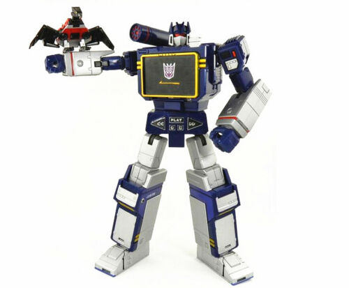 "Masterpiece MP13 Soundwave Action Figure 9.8/"" Toy Figurine New in Box"