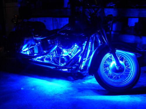 18 Color 5050 SMD RGB Led Honda Valkyrie 6pc Motorcycle Led Flexible Strip Kit
