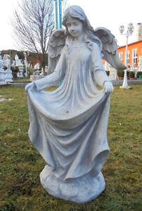 Gartenfiguren engel statue aus steinguss cm for Gartenfiguren aus steinguss