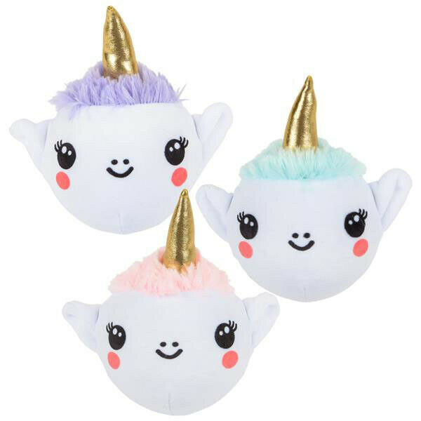 12 PIECES 4  Chasse Licorne Peluche Squeeze TOYS KIDS Prix Party Favors